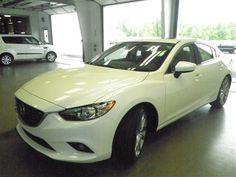 2014 Mazda Mazda6 iGrandTouring i Grand Touring 4dr Sedan Sedan 4 Doors White for sale in Indianapolis, IN Source: http://www.usedcarsgroup.com/used-mazda-for-sale-in-indianapolis-in