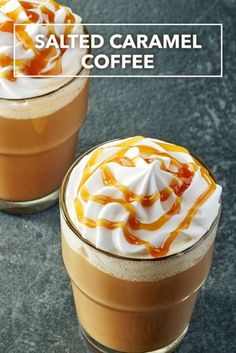 Salted Caramel Coffee K-cup recipe. Round-up of our favorite K-Cup Recipes, think outside the cup. Dessert, Coffees, Sweet Drinks and More on Frugal Coupon Living.