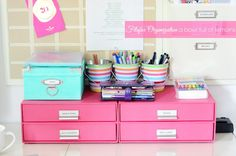 Bigso™ Stockholm Paper Drawers Pink                                                                                                                                                      More
