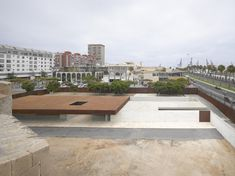 Built by Nieto Sobejano Arquitectos in Las Palmas de Gran Canaria, Spain with date Images by Roland Halbe. The Castillo de la Luz is for the city of Las Palmas not only one of the most significant buildings of its architectu. Contemporary Museum, Contemporary Architecture, Architecture Details, Landscape Architecture, Public Architecture, Minimal Architecture, Urban Ideas, New Staircase, Tower Building