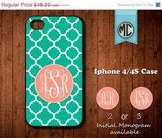 20 SALE Personalized iPhone 4 Case  Plastic iPhone by iMonoCase, $14.56