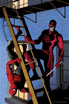 Daredevil #8 by Paolo Rivera