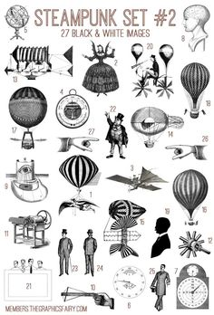 Emily and I have added another Fabulous Bundle to our site The Graphics Fairy Premium Membership!! This week's Bundle is a splendid Vintage Steampunk Images Kit! This Bundle includes: 27high resolution images(.png) 1 set of Photoshop brushes (.abr) 27 vector files (.ai, .eps, .svg) 6 printables (inchies & domino collage sheets, 2 sets of cards,...Read More »