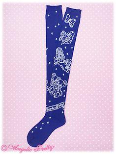 Lolibrary | Angelic Pretty - Socks - Dreamy Horoscope OTKs
