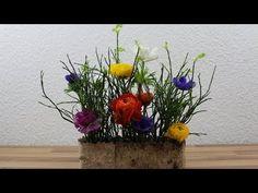 Einfache Deko mit Frühlingsblumen selber machen ❁ Deko Ideen mit Flora-Shop - YouTube Table Centerpieces, Table Decorations, Simple Flowers, Floral Arrangements, Plants, Art Floral, Videos, Inspiration, Youtube