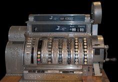 Old Cash Register #vintage #cash #antique #register