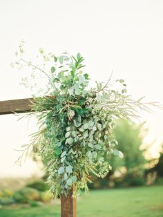 Sometimes, a Touch of #Green is All You Need!! | Nature-Inspired Wedding Decor | Photography: Ashley Kelemen | on #SMP: http://www.stylemepretty.com/2013/11/11/italian-wine-country-inspiration-shoot-from-ashley-kelemen-photography