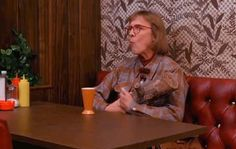 "This is just how Log Lady rolls. | 13 Things One Must Know About The Log Lady Of ""Twin Peaks"""