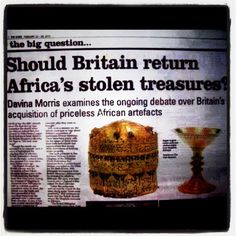 Gee I don't know? Should I be arrested if I took some of the Queen's shit? A similar and equally ridiculous question was asked in a British newspaper related to the jewel and other artifacts stolen from the Subcontinent (now India, Pakistan and Bangladesh). It was about Koh-i-Noor; The Indian jewel in the Queen's crown. It was confiscated from Kharak Singh in 1850 by the British East India Company and became part of the British Crown Jewels when Queen Victoria was proclaimed Empress of India…