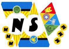 B-DAY Miguel Trabalho: identidade visual aniversário Ano: 2015 Inspiração: Super heróis