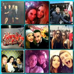"""Danielle tweeted: """"2012 Memories...... xx"""" Awww I see Payzer and Elounor and Danielle's gorgeousness!"""