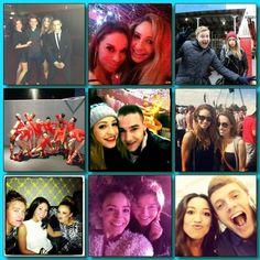 Twitter pic from DaniellePeazer: 2012 Memories...... xx ...