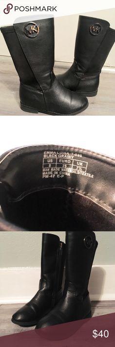 Girls Michael Kors Boots Little Girls Black Michael Kors Boots MICHAEL Michael Kors Shoes Boots