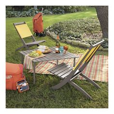 Crate And Barrel Picnic Table In A Bag I Want One