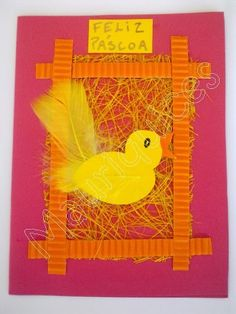 Easter cards to make with your kids! Easter Art, Easter Crafts, Spring Crafts For Kids, Art For Kids, Easter Season, Spring Party, Farm Theme, School Art Projects, Art Lessons