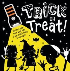 As Halloween approaches, children will be excited to explore this super spooky story. It contains a silicone torch that can be used to <b>light up the pages and reveal some hidden artwork</b>.