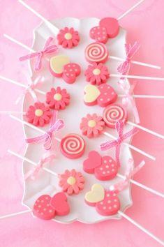 「ロリポップチョコレート」あいりおー | お菓子・パンのレシピや作り方【corecle*コレクル】