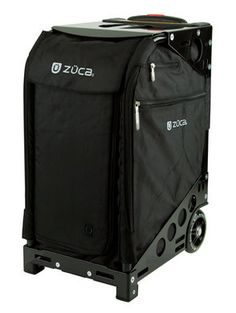 """Say Hello to ZÜCA, the anti """"jet lag"""" bag. Developed for the seasoned road warrior, the ZÜCA Pro is part carry-on, part organizer, and part """"darn is this thing cool."""" With a built-in seat (seriously) and removable packing pouches that stack like drawers, this patented new concept in travel is like nothing else. Period. Better yet, the ZÜCA Pro fits comfortably into overheads and comes with a TSA-friendly toiletry bag. The comforts of home. You can take them with you."""