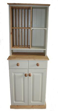 Pine Dresser, Welsh Dresser, Hand Painted Dressers, Kitchen Dresser, Plate Racks, Beautiful Hands, China Cabinet, Plates, Arrow Keys