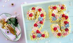 Number Cake  Rezept | Dr. Oetker Mini Marshmallows, Cake Au Nutella, Vanille Paste, Cake Chocolat, Number Cakes, Flower Power, Cake Recipes, Yummy Food, Delicious Recipes