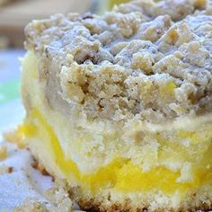 Lemon Coffee Cake Lemon Coffee Cake is a delicious, moist and sweet breakfast or snack cake, and also a very easy dessert recipe. Bursting with tangy lemon flavor, this coffee cake is the perfect treat to enjoy this spring or summer! Lemon Desserts, Lemon Recipes, Easy Desserts, Cake Recipes, Dessert Recipes, Food Cakes, Cupcake Cakes, Cupcakes, Sweet Breakfast