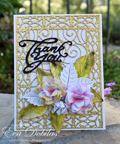 For the love of life: Cheery Lynn Designs: Thank you card