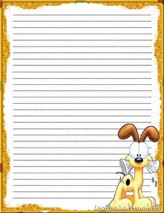 Pup w/paper