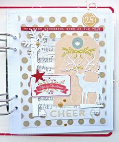December Daily Title Page by Anke Kramer at @studio_calico