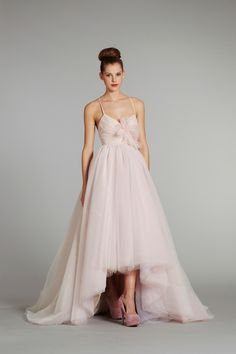 haily paige gown called lilac (blush)