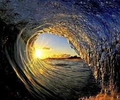Sun through the barrell