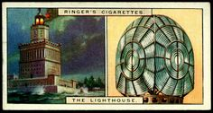 Cigarette Card - Past & Present, The Lighthouse | Flickr - Photo Sharing!