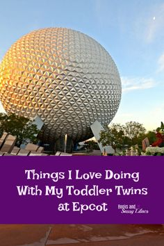 Things I Love Doing With My Toddler Twins at Epcot