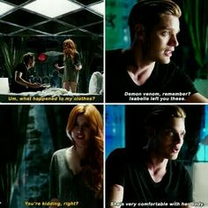 "#Shadowhunters 1x01 ""The Mortal Cup"""
