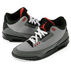 "Nike Air Jordan III 3 Retro ""Stealth"" Mens Basketball Shoes    Disclosure: Affiliate Link"