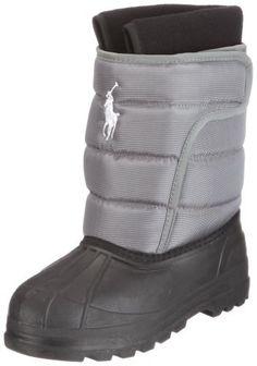 Polo by Ralph Lauren Vancouver EZ Pull-On Boot (Toddler/Little Kid) Polo Ralph Lauren. $32.95. Waterproof lether bottom. Contrasting colors. Padded velcro closure. Embroidered logo stitching. Rubber sole. Rubber sole boot. synthetic