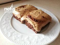 Dalgona Keki - Nefis Yemek Tarifleri Feta, Great Recipes, Food And Drink, Ice Cream, Cooking, Breakfast, Ethnic Recipes, Desserts, Cupcake