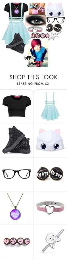 """""""pastel #3"""" by amy-power666 ❤ liked on Polyvore featuring Converse, Muse and Bling Jewelry"""