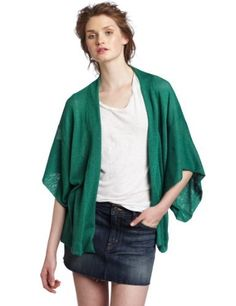 Jet Corp Women's Kimino Sweater, Green, One Size JET. $76.01. Light weight spring sweater over tank. Dry Clean Only. Loose and sexy can be worn around the pool. 100% Rayon