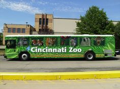 Cincinnati Zoo Full Bus Wrap