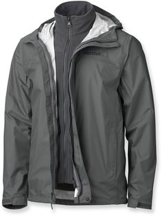 The three-in-one Dillon Component Jacket has all the performance of NanoPro waterproof and breathable fabric with a zip-out fleece. Motorcycle Jacket, Rain Jacket, Windbreaker, Jackets, Stuff To Buy, Accessories, Fashion, King, Down Jackets