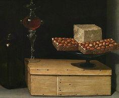 Juan van der Hamen y Leon - Still Life with Sweets (1622)