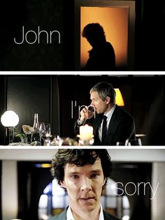Hopefully Sherlock scares John so badly his mustache falls right off. <---THIS  lol