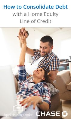 A major perk of using a Home Equity Line of Credit to consolidate your debt is that you're likely to reduce the amount of interest you're paying. Home equity interest rates can be lower than credit card or other loan rates. Find out if using your home's equity is the right option for you and how to apply.