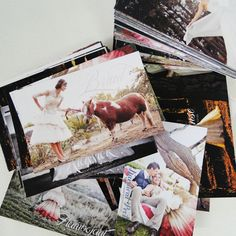 Postcards as marketing material for Gelieft, by The Toast Entperprise