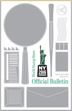 NEWSFLASH! WSS-NY 2016 EXHIBITION BULLETIN RELEASED Information important to potential exhibitors is now available with the release of the Bulletin by #WorldStampShow-NY 2016. Prospective exhibitors can find application forms, electronic bulletins and other info at www.ny2016.org.