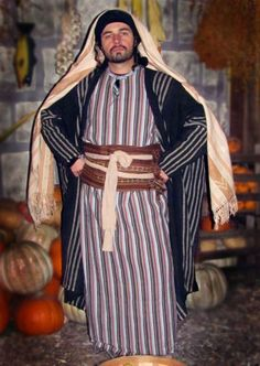Biblical Costuming by Karol Bartoszynski. Biblical, ancient and Middle-Eastern costume design and custom fabrication for TV, film, religious organizations or anyone else searching for the most authentic Bible garments available. Bible clothing for Purim, Easter, Halloween and Christmas.