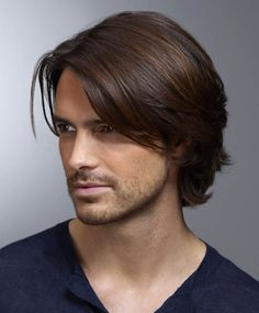Hairstyles fringe Nahen natürlichen geraden Seite gefegt Fransen Herren Frisur Lace Front Human P. Médio Natural Straight Side varrido Franja penteado dos homens frente do laço perucas humanas 8 polegadas - Young Mens Hairstyles, Side Part Hairstyles, Haircuts For Men, Trendy Hairstyles, Straight Hairstyles, Popular Haircuts, Men's Long Haircuts, Hairstyles 2018, Medium Length Hair Men