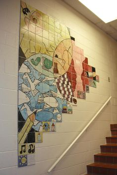 Tile Murals In Schools And Organizations My First Experience Working As A Ceramic Artist With Young People Was When I Took Clay To So