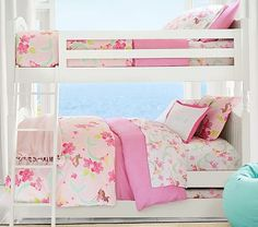 Catalina Twin-over-Twin Bunk Bed. Can also convert to two twin beds || PBK