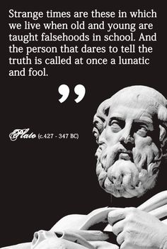 """This is the truth. The left, which is falsely thought of as the champion of freethinking, will not break from the status quo narrative provided to them by their agenda driven elites. There is no free or rational thought in modern """"liberals"""". Wise Quotes, Quotable Quotes, Famous Quotes, Great Quotes, Motivational Quotes, Inspirational Quotes, Quotes Positive, Plato Quotes, Political Quotes"""